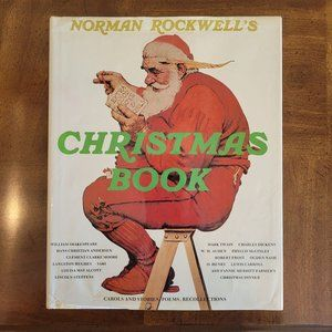 1st Edition 1977 Norman Rockwell's Christmas Book